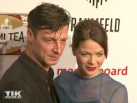 Jessica Schwarz posierte mit ihrem Freund Markus Selikovsky bei der Party des Medienboard Berlin-Brandenburg 2016