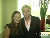 Sir Bob Geldof und Sonja Kirchberger
