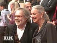 """Thomas Fritsch mit Ehefrau auf der """"Gefährten""""-Premiere"""