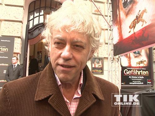 """Sir Bob Geldof bei der """"Gefährten""""-Premiere in Berlin"""