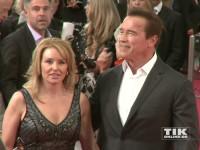 """Arnold Schwarzenegger brachte seine Freundin Heather Milligan mit zur Premiere von """"Terminator Genisys"""" in Berlin"""