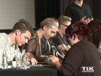 Autogramm-Marathon bei Tokio Hotel