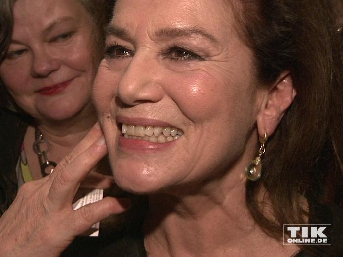Schauspielerin Hannelore Elsner bestens gelaunt beim Askania Award 2016