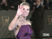 """""""Germany's next Topmodel""""-Chefin Heidi Klum kam in einem schulterfreien Kleid zur Bambi Verleihung 2015"""