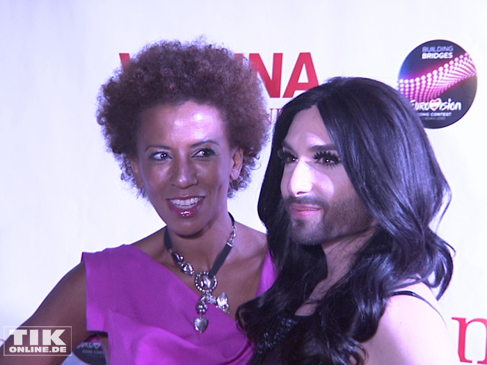 Conchita Wurst, Arabella Kiesbauer