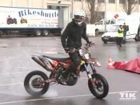 Warm up der Berliner Motorrad Tage BMT 2016