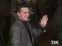 """Josh Hutcherson bei der """"Die Tribute von Panem - Mockingjay 2""""-Premiere in Berlin"""