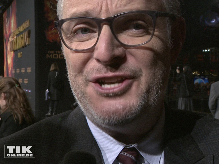 "Regisseur Francis Lawrence bei der ""Die Tribute von Panem - Mockingjay 2""-Premiere in Berlin"